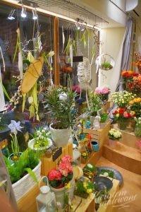 Wnętrze Kwiaciarni Łódź Kwiatem Malowane