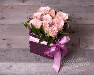 Prezent kwiatowy, dekoracja
