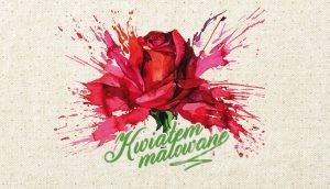 Logotyp Kwiatem Malowane