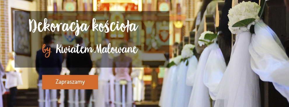 Wystrój kościoła do ślubu