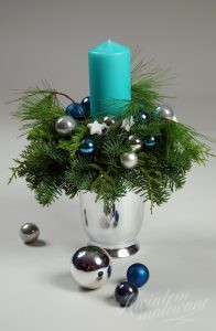 Mały stroik świąteczny