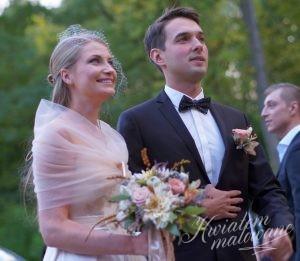 Państwo Młodzi przed ślubem