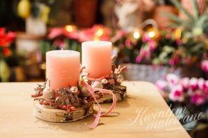 stroik świąteczny na stół