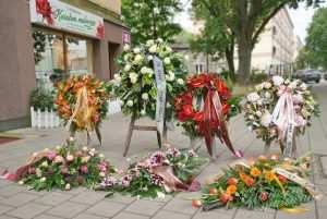 Wieńce i wiązanki pogrzebowe , funeralne