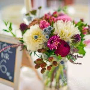 Kwiaty na stół
