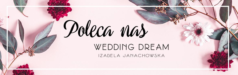 Kwiaciarnia Kwiatem Malowane polecana przez Wedding Dream Izabela Janachowska